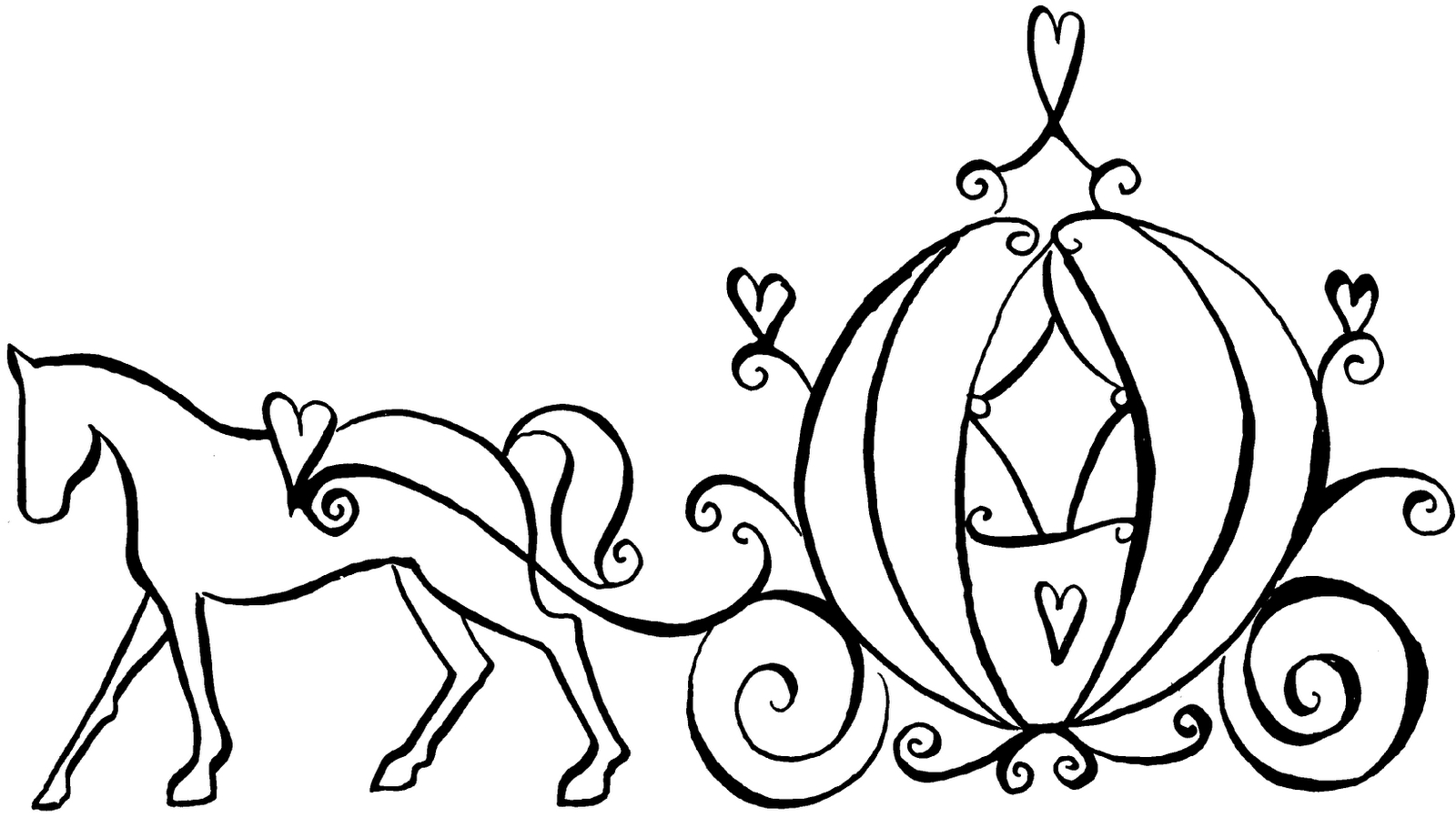 horse and carriage coloring pages horse and carriage transportation coloring pages coloring and pages horse carriage
