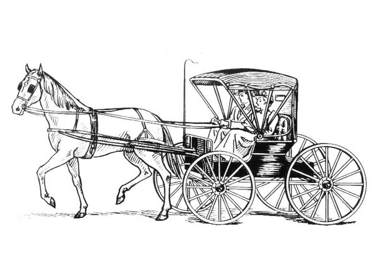 horse and carriage coloring pages horse and carriage transportation coloring pages horse and coloring pages carriage