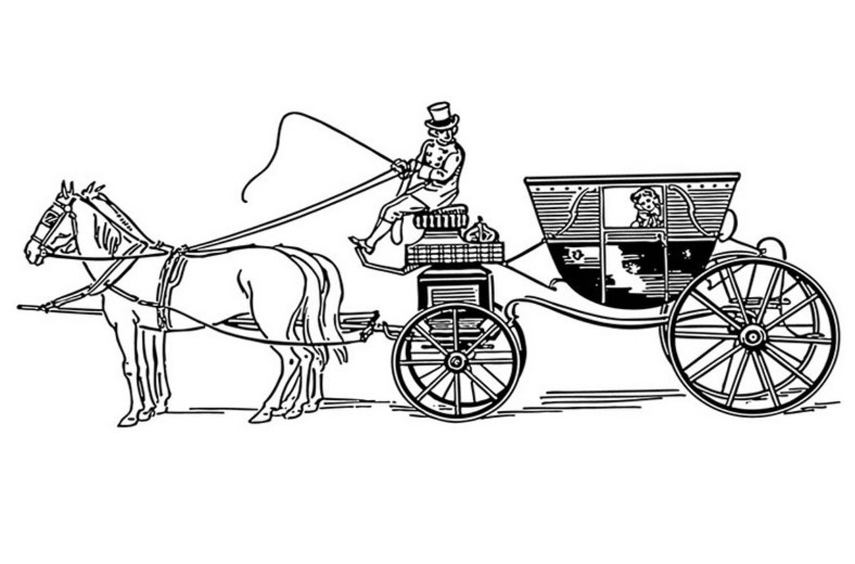 horse and carriage coloring pages horse and wagon coloring page horse pulling farmers wagon horse coloring carriage pages and