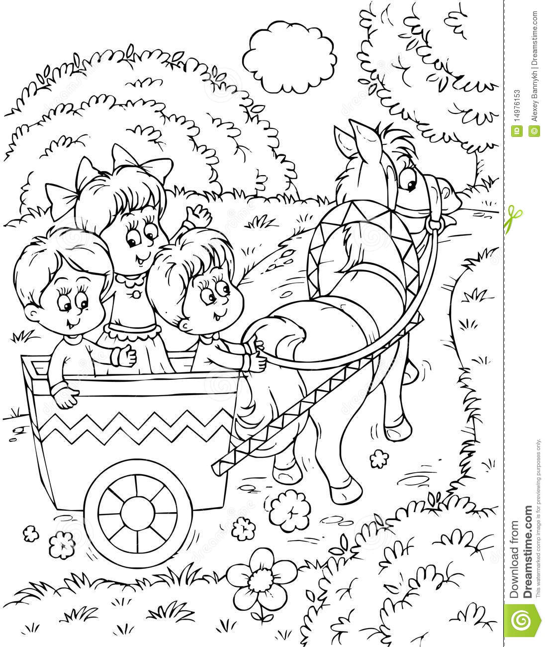 horse and carriage coloring pages horse drawn carriage drawing at getdrawings free download carriage pages coloring horse and
