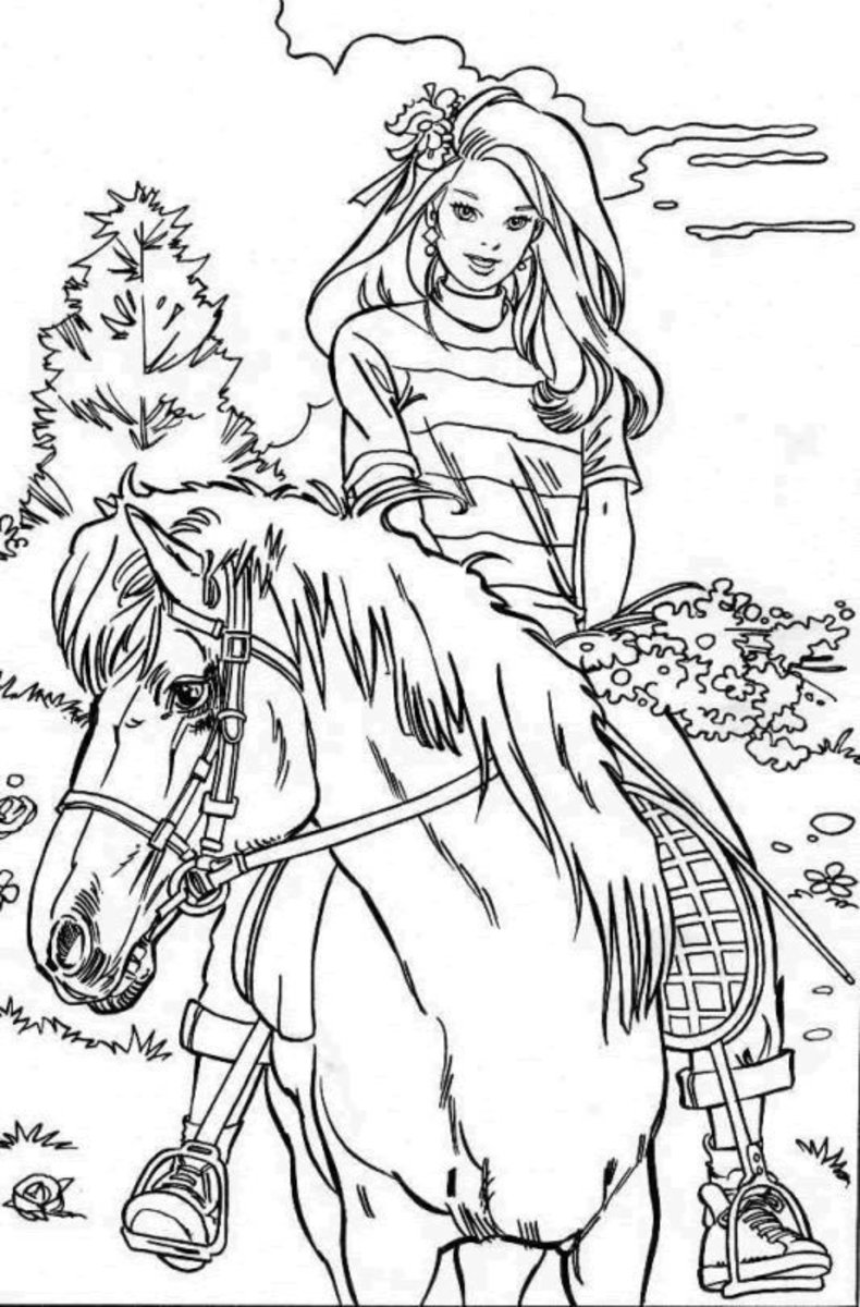 horse and rider coloring pages free online horse coloring pages coloring home horse pages rider and coloring