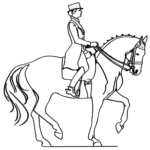 horse and rider coloring pages horse and rider coloring pages coloring home horse coloring rider pages and