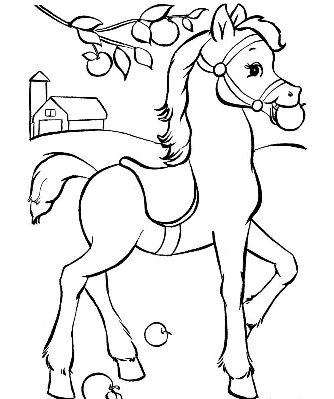 horse coloring sheets horse free to color for children trotting horse horses coloring horse sheets