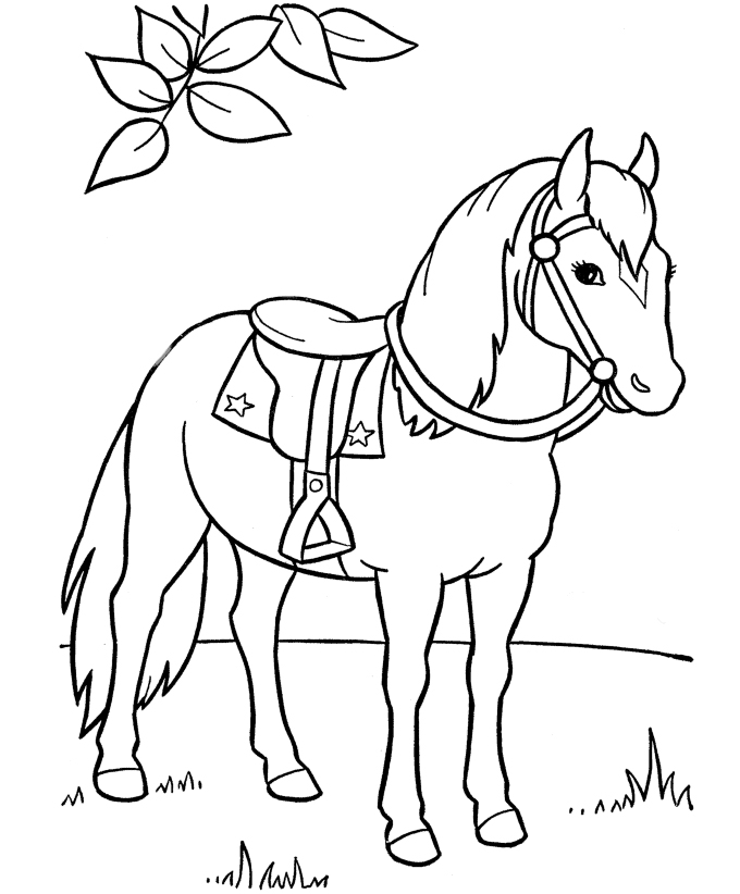 horse colouring picture fun horse coloring pages for your kids printable colouring horse picture 1 1