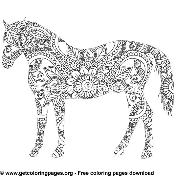 horse zentangle coloring pages easy 31 zentangle horse pattern coloring pages coloring pages zentangle horse