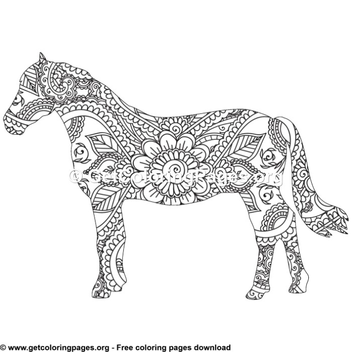 horse zentangle coloring pages horse zentangle coloring pages pages horse zentangle coloring