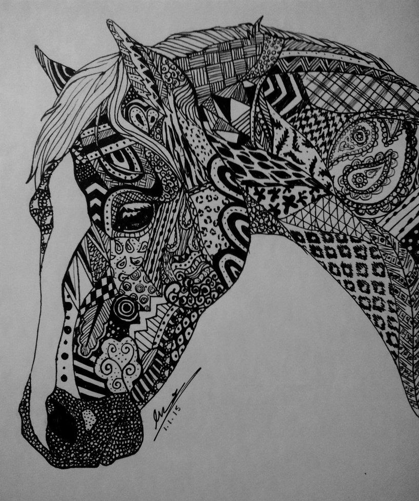 horse zentangle coloring pages lovely horse zentangle super coloring mandalas para pages zentangle horse coloring