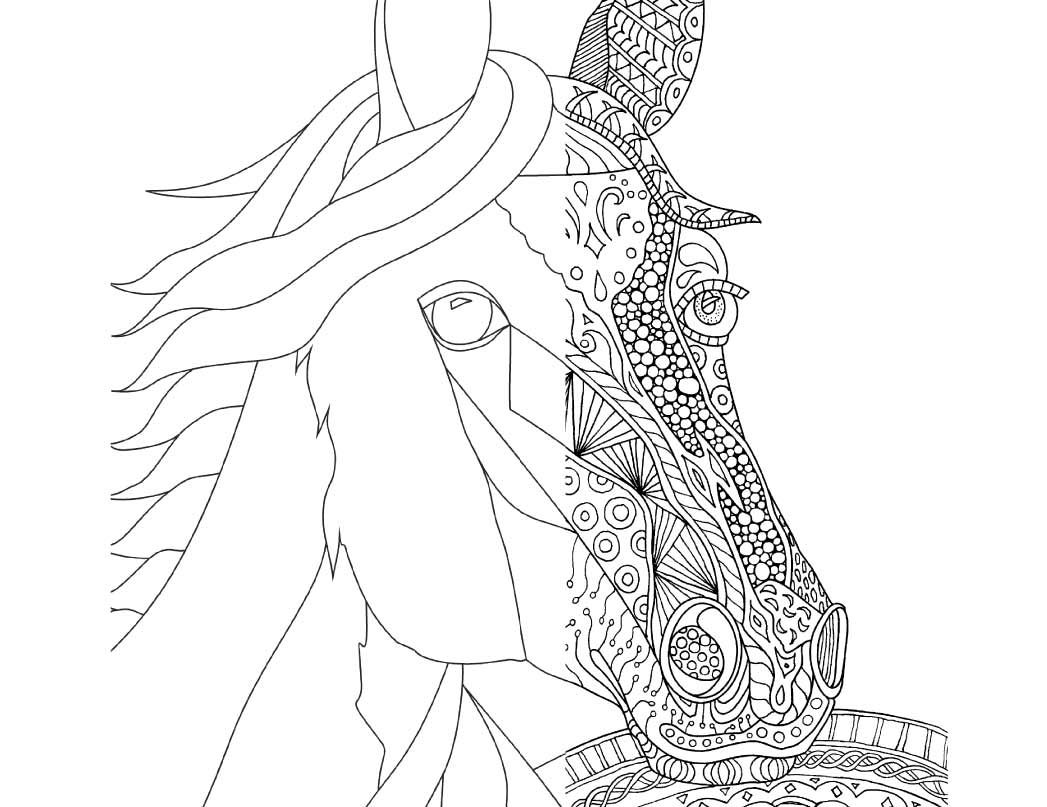 horse zentangle coloring pages zentangle horses horse zentangle horse coloring pages horse pages coloring zentangle