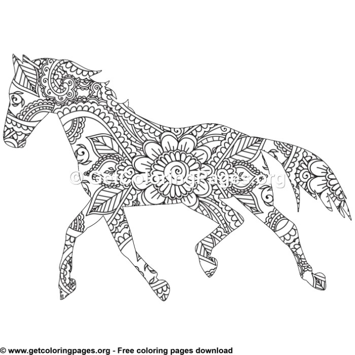 horse zentangle coloring pages zentangle sea horse zentangle adult coloring pages page 2 coloring pages zentangle horse