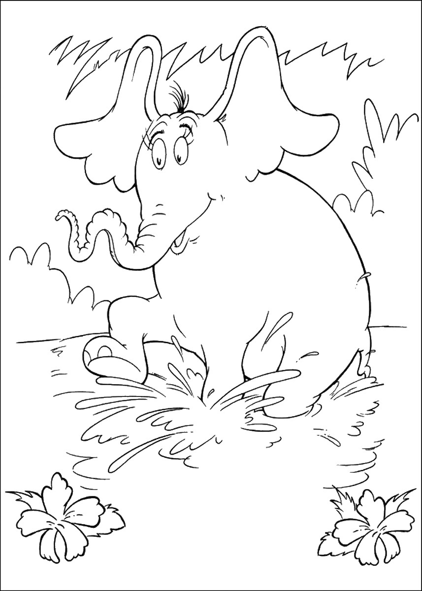 horton hears a who coloring pages 43 best horton hears a who coloring pages for kids who a horton coloring hears pages