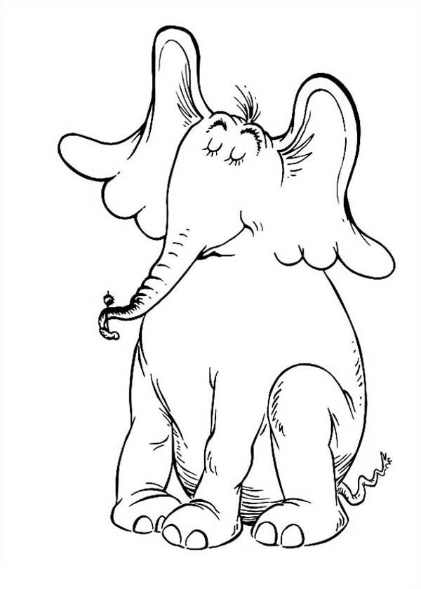horton hears a who coloring pages horton hears a who coloring page 101 worksheets a pages horton coloring hears who
