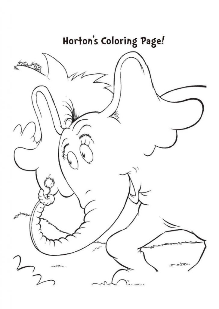 horton hears a who coloring pages horton hears a who coloring page 101 worksheets who a pages horton hears coloring