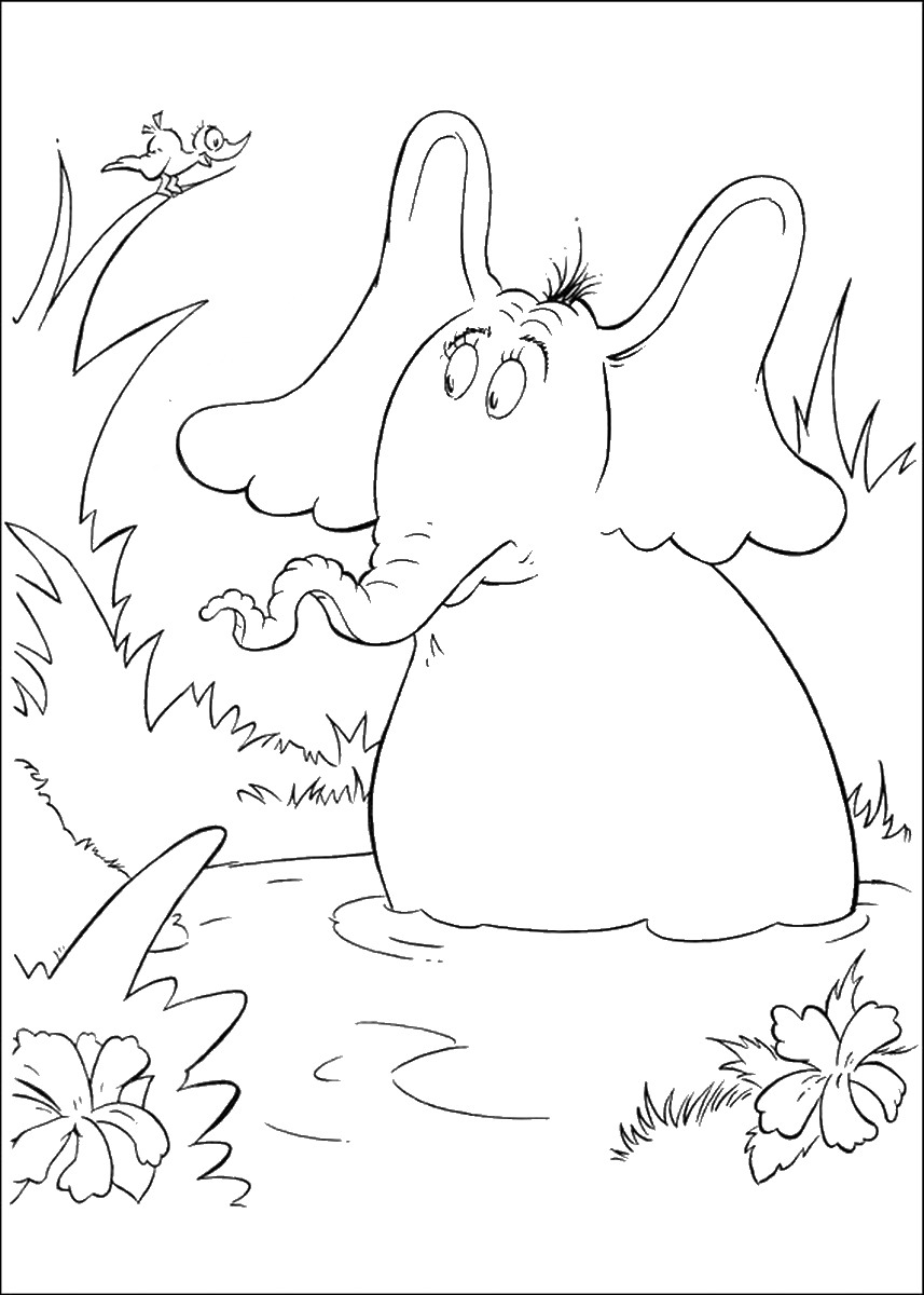 horton hears a who coloring pages horton hears a who coloring page coloring page base pages horton coloring a hears who