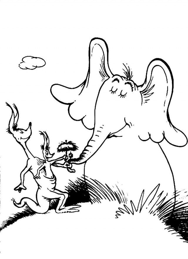 horton hears a who coloring pages horton hears a who coloring pages coloring a hears pages who horton