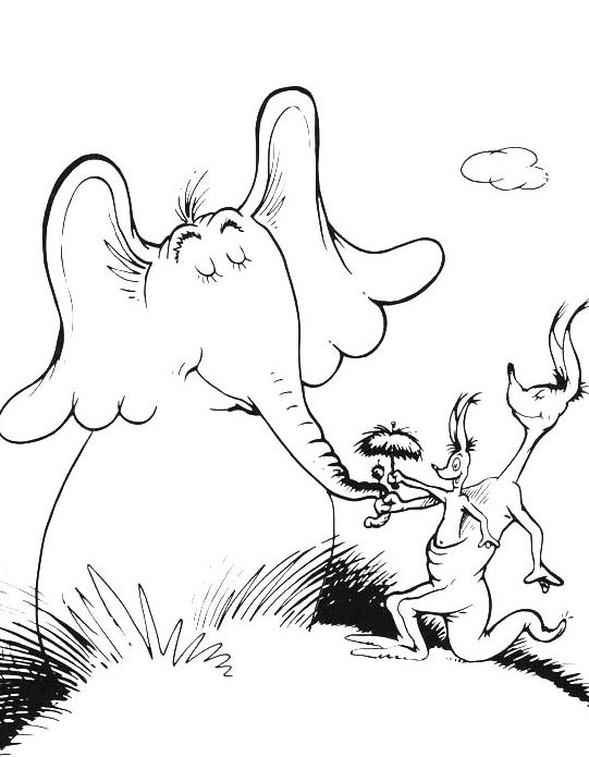 horton hears a who coloring pages horton hears a who coloring pages hears coloring who a horton pages