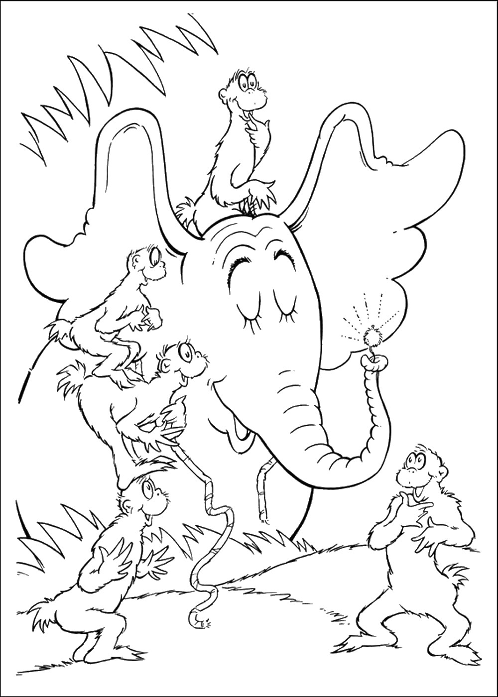 horton hears a who coloring pages horton hears a who coloring pages hears coloring who pages horton a