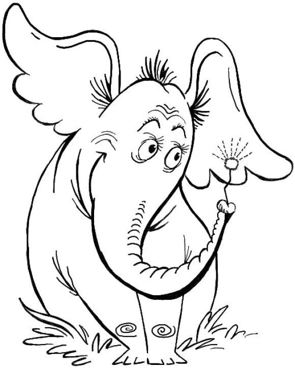 horton hears a who coloring pages horton hears a who coloring pages pages hears horton a who coloring