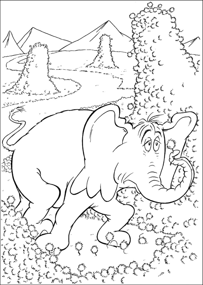 horton hears a who coloring pages horton hears a who coloring pages pages horton who hears coloring a