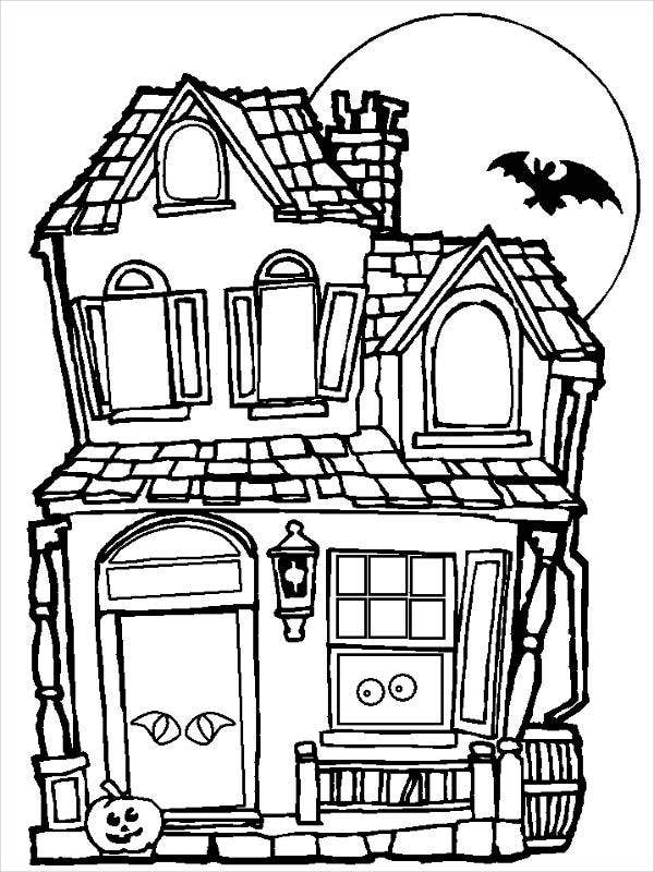 house coloring pictures free printable house coloring pages for kids coloring house pictures 1 1