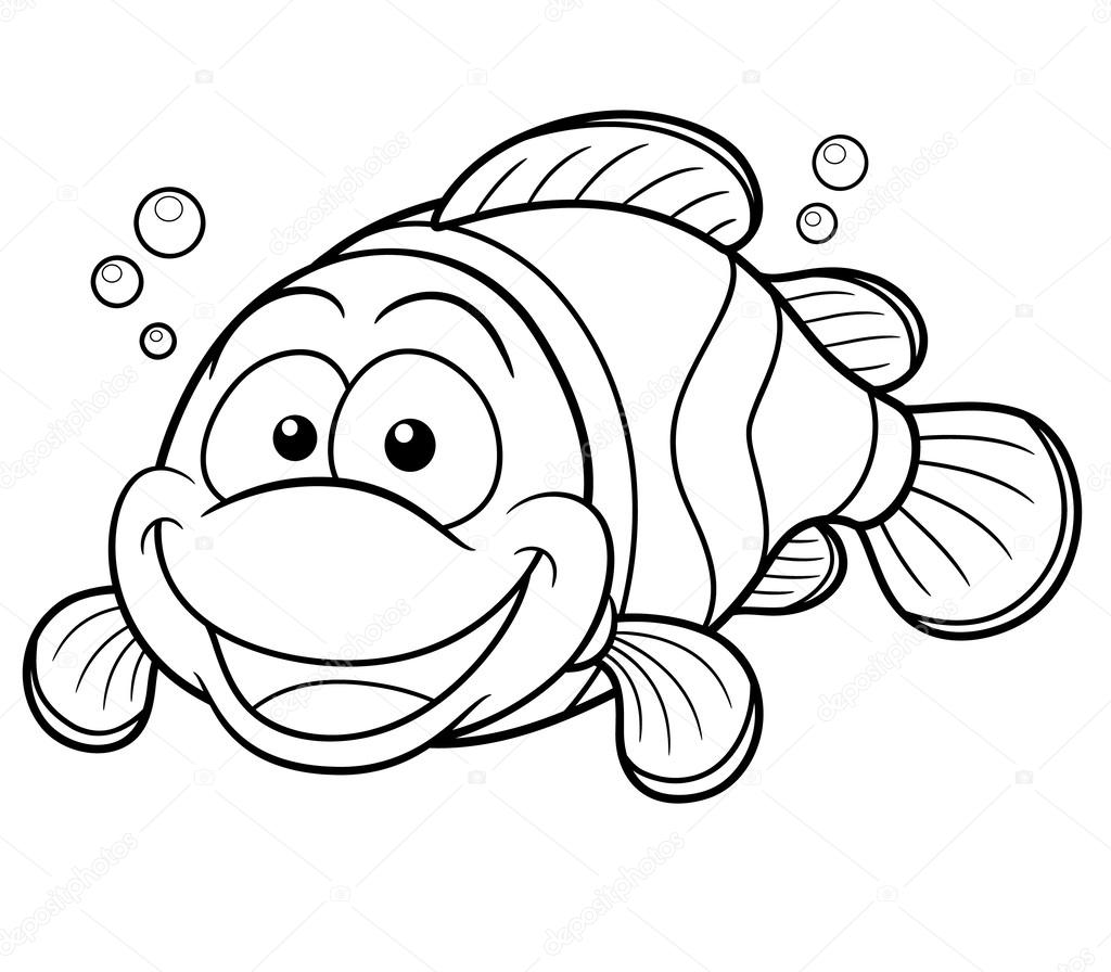 how do you draw a clown fish clown fish template clipart how draw do fish a you clown