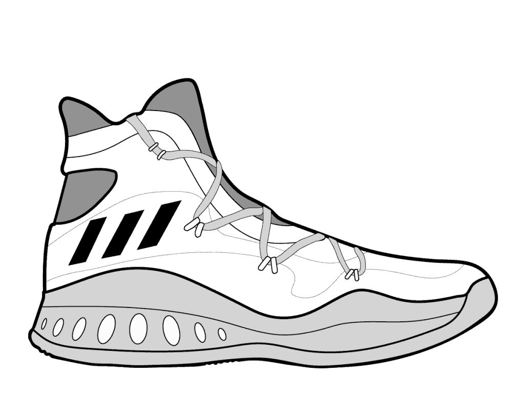 how do you draw a shoe art project girl shaded shoes and the sock hop shoe how a do draw you