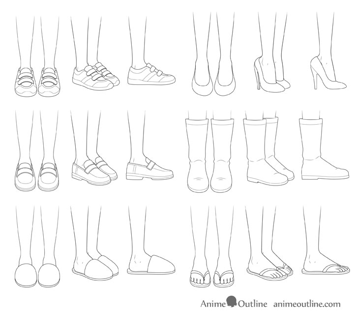 how do you draw a shoe leg 05 character design references character design a you do how shoe draw