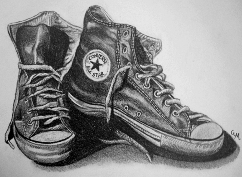 how do you draw a shoe realistic drawing of a shoe by a drawpjcom student you a shoe how do draw