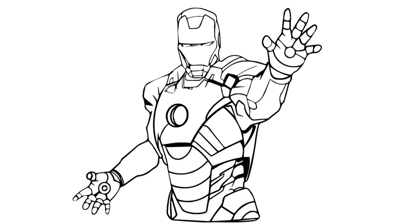 how draw iron man easy iron man drawing at getdrawings free download how iron draw man