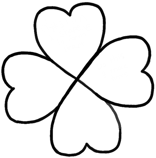how to draw a 4 leaf clover download high quality four leaf clover clipart drawing a draw clover to leaf 4 how
