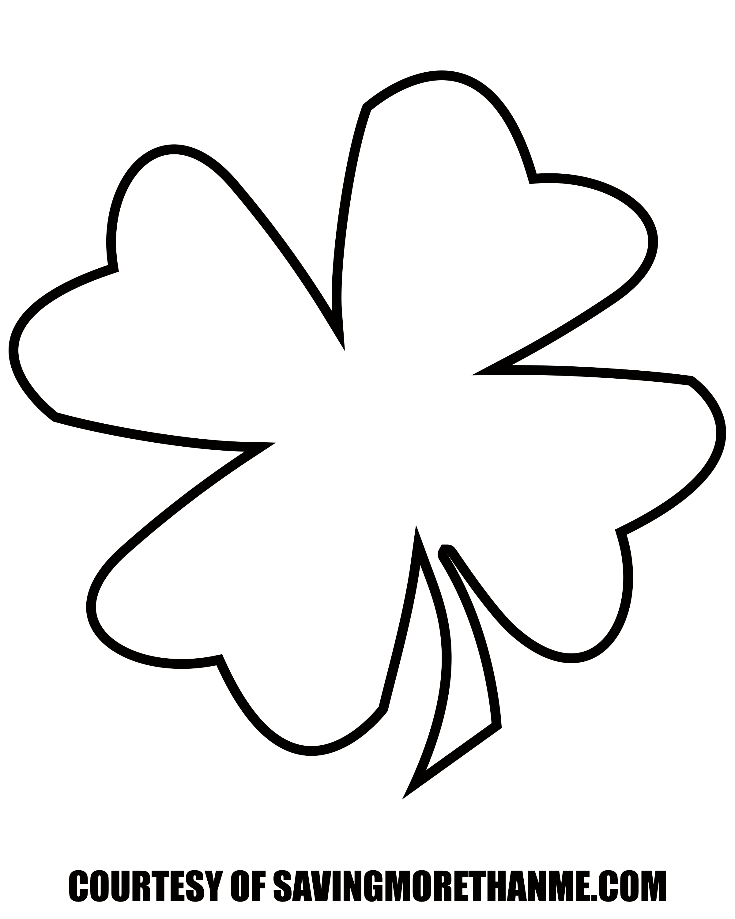 how to draw a 4 leaf clover four leaf clover drawing coloring book clip art png a how clover 4 draw to leaf