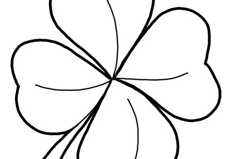 how to draw a 4 leaf clover step finished four leaf clover how to draw 4 leaf clovers 4 clover leaf draw a to how