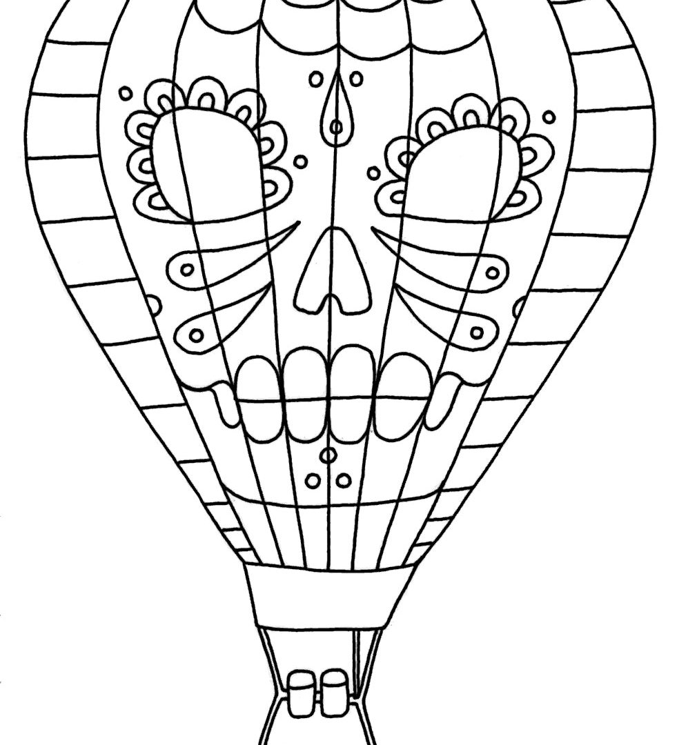 how to draw a air balloon hot air balloon drawing at getdrawings free download air a balloon draw how to