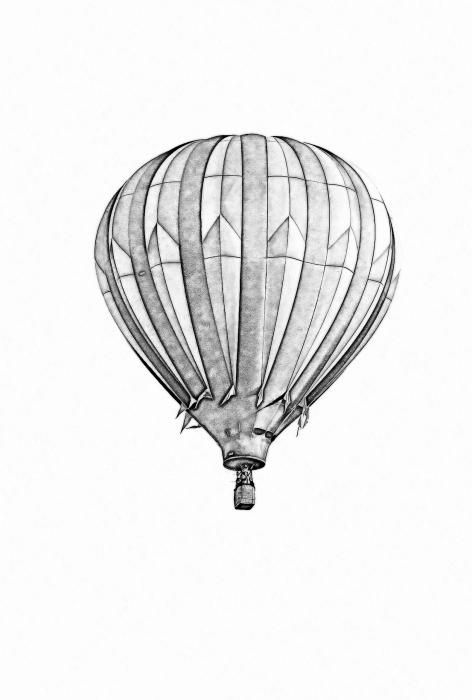 how to draw a air balloon hot air balloon drawing free download on clipartmag balloon air a to draw how