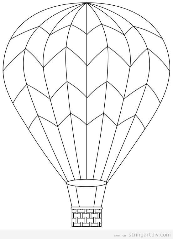 how to draw a air balloon hot air balloon line drawing free download on clipartmag how balloon a air draw to