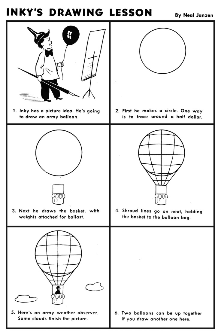 how to draw a air balloon hot air balloons drawing at getdrawings free download to draw a air how balloon