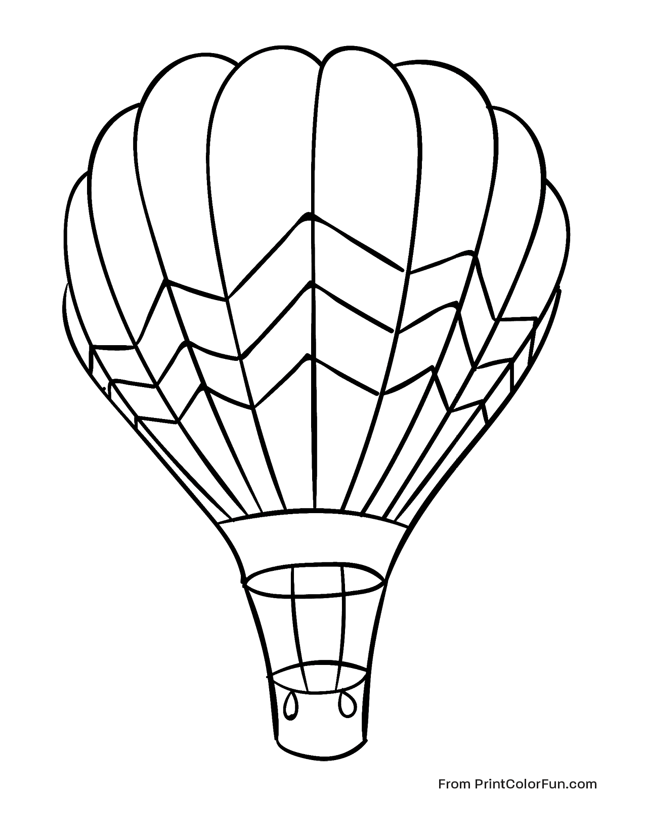 how to draw a air balloon huge hot air balloon flying in the sky coloring page a draw air balloon to how