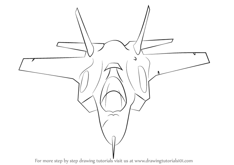 how to draw a air force plane pin on air force aicraft a air plane how to draw force