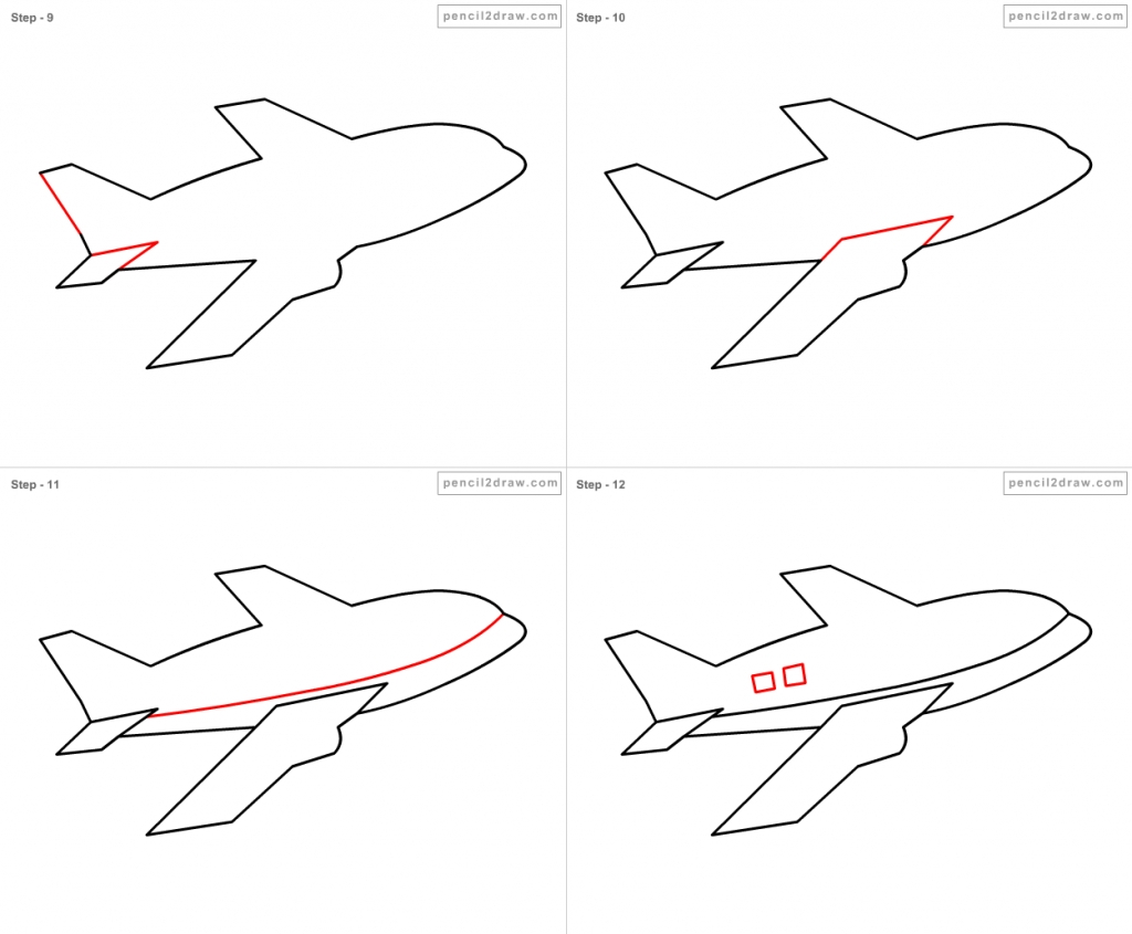 how to draw a airplane step by step how to draw an airplane with easy step by step drawing airplane a by how draw step step to