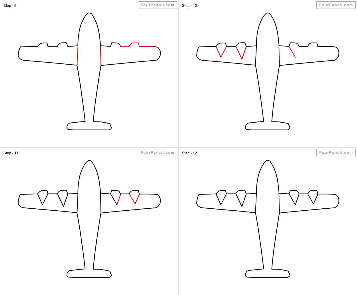 how to draw a airplane step by step step by step airplane drawing at getdrawings free download step a how to airplane draw step by