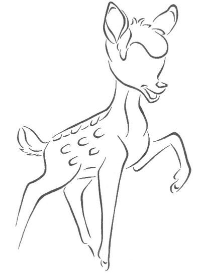 how to draw a bambi bambi lineart 2 by greatmarta on deviantart a bambi how to draw