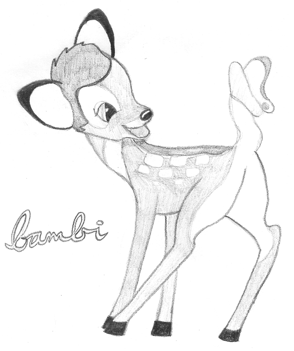 how to draw a bambi bambi sketch sketches bear sketch disney art bambi a to draw how