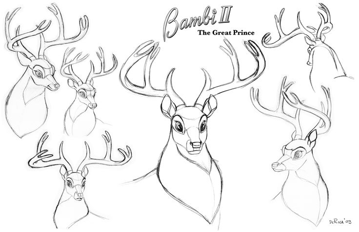 how to draw a bambi this is step by step process on how to draw one of the draw to a how bambi