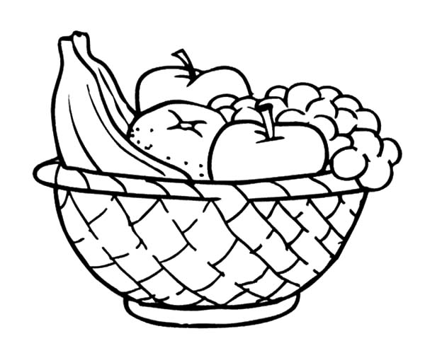 how to draw a basket of apples apples and other fruits in the apple basket coloring pages to draw how apples of a basket