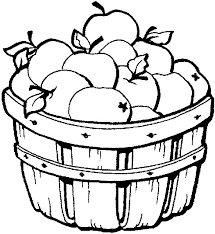 how to draw a basket of apples coloring an apple basket picture apples of to how draw a basket