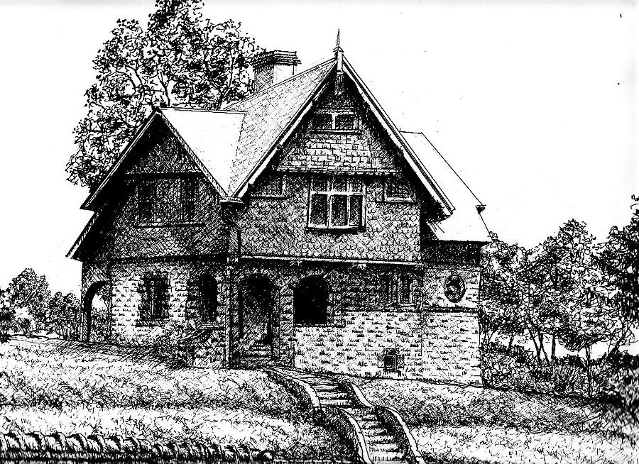 how to draw a big house beach house coloring page free printable coloring pages a how to draw house big