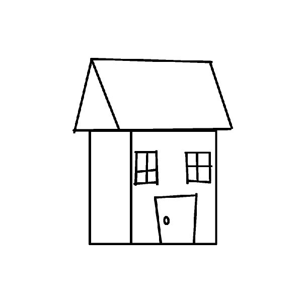 how to draw a big house house sketch design drawing plan samples floor creator a how draw to big house