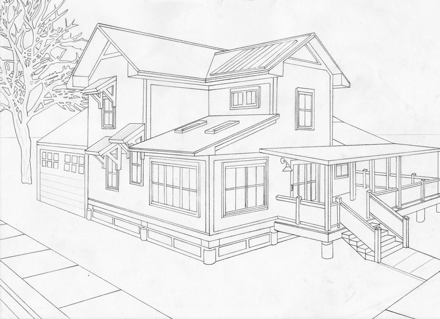 how to draw a big house house stock vector illustration of modern isolated how to a draw big house