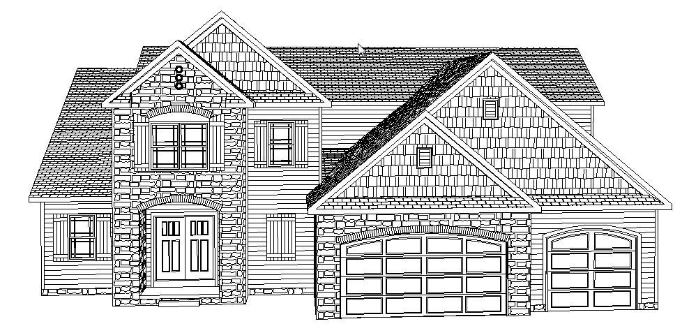 how to draw a big house stick drawing house at getdrawingscom free for personal big house a to draw how
