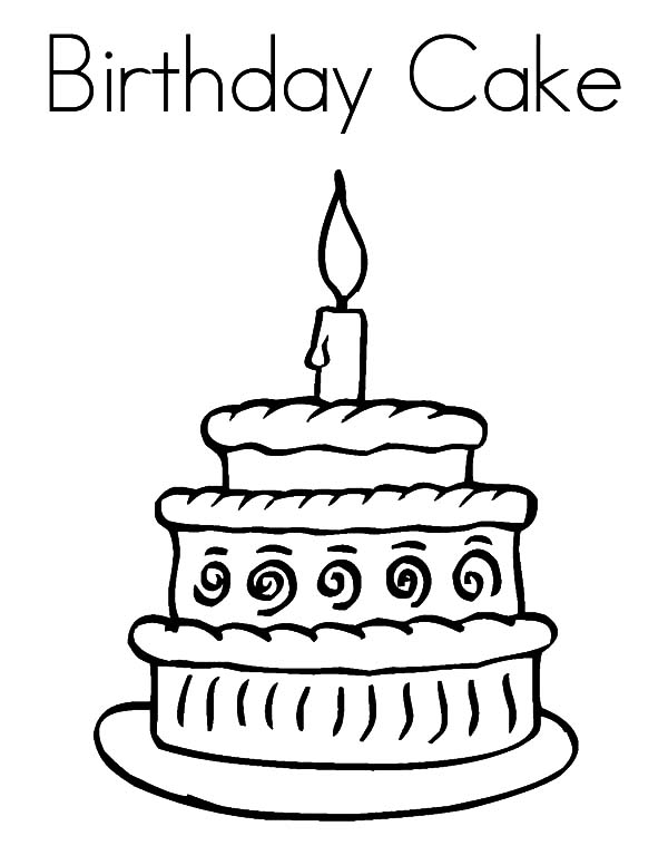 how to draw a birthday cake birthday cake drawing images at getdrawings free download a birthday draw cake how to