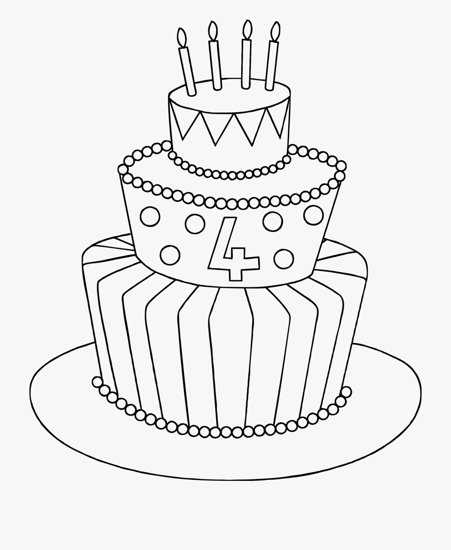 how to draw a birthday cake birthday cake drawing images at getdrawingscom free for birthday a cake draw how to